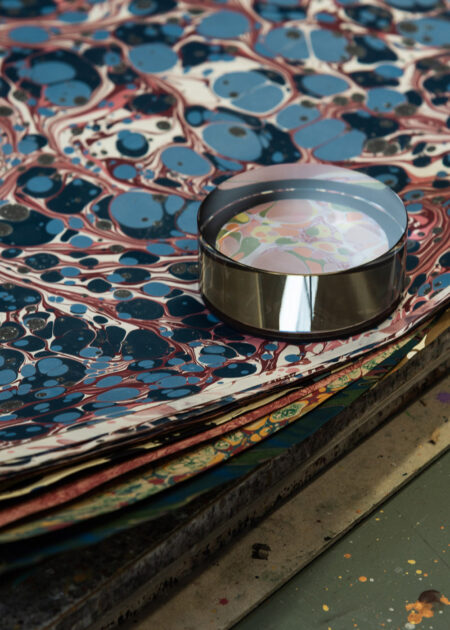 A Lesson in Craft: the hypnotic world of paper marbling expert Jemma Lewis