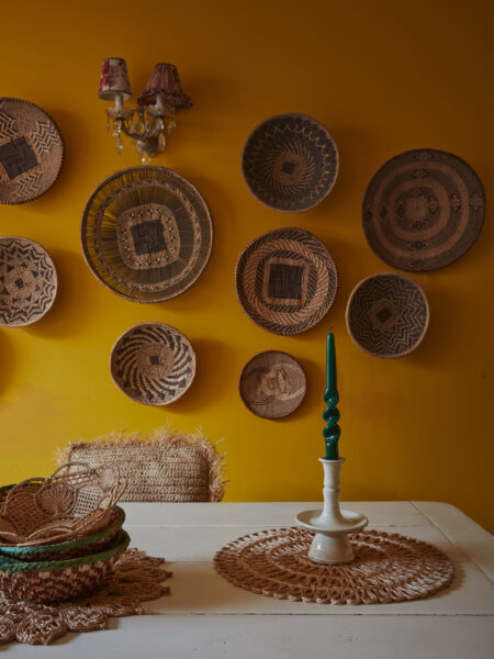 """A Home With a History: the improvised charm of Lucinda Chambers' colourful Edwardian """"work-in-progress"""""""