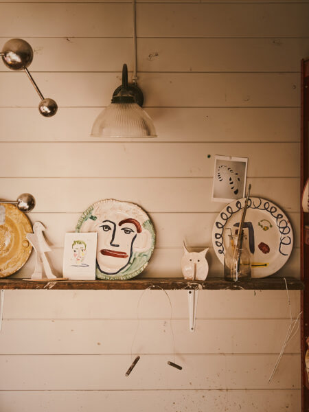 A Lesson in Craft: the cheer and cheek  of Gavin Houghton's badly behaved slab ceramics