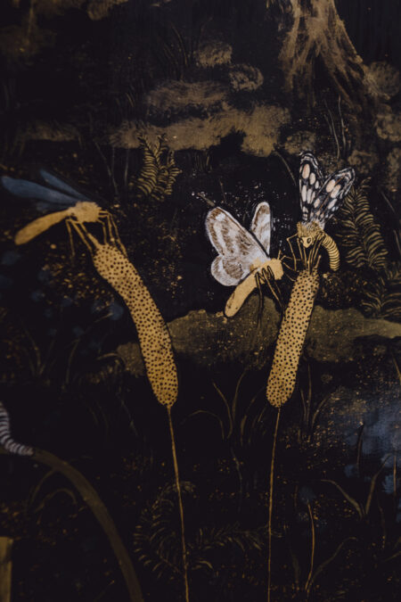 A Lesson in Craft: the enigmatic depths of Tuesday Riddell's japanned artworks