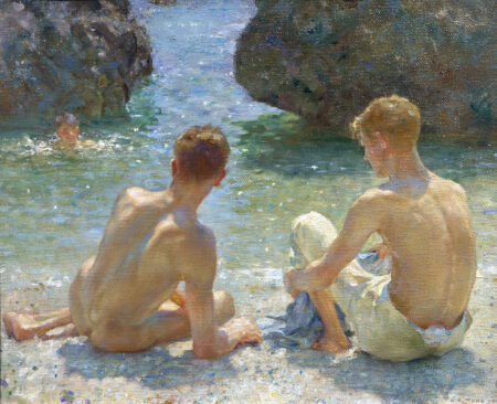 For the Library: the boats and bathing boys of Henry Scott Tuke